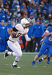 November 7, 2015 - Colorado Springs, Colorado, U.S. - Army punt returner, Edgar Poe #82, in action during the NCAA Football game between the Army Black Knights and the Air Force Academy Falcons at Falcon Stadium, U.S. Air Force Academy, Colorado Springs, Colorado.  Air Force defeats Army 20-3.