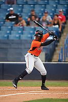 Terry Fuller (34) of Griffin High School in Griffin, Georgia playing for the Baltimore Orioles scout team during the East Coast Pro Showcase on August 3, 2016 at George M. Steinbrenner Field in Tampa, Florida.  (Mike Janes/Four Seam Images)