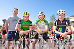 Killorglin Cycling Club.  John Blackwell, Sean Doona, Michael O'Shea, Peter Clendennon, at the Sliabh Mish Spinners Cycle club Pedal the Peninsula Charity Cycle in aid of Keel Palliative care fund Raising Group on Sunday