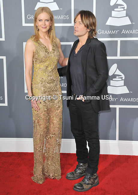 Nicole Kidman and Keith Urban _124  the 55th Ann. Grammy Awards 2013 at the Staples Center in Los Angeles.