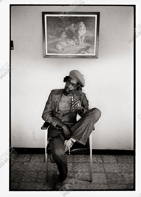 Peter Tosh. Kingston, Jamaica. March 1976