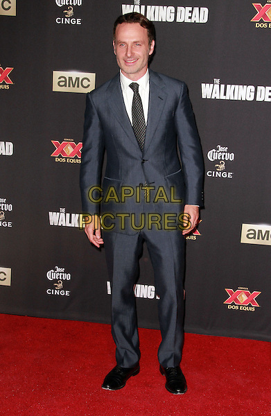 2 October 2014 - Universal City, California -   Andrew Lincoln  attend AMC celebrates the season five premiere of its hit series, &ldquo;The Walking Dead,&rdquo;  at the  AMC Universal Citywalk Stadium 19/IMAX.  <br /> CAP/ADM/TBO<br /> &copy;Theresa Bouche/AdMedia/Capital Pictures