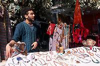 Spanien, Balearen, Ibiza, Hippiemarkt Las Dalias bei Sant Carles de Peralta
