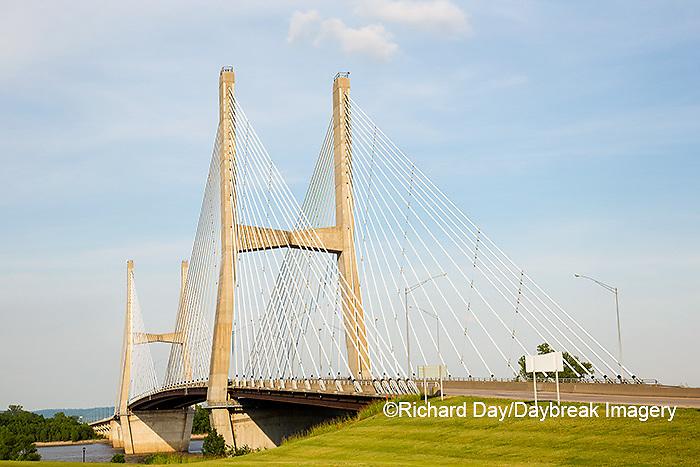 65095-02604 Bill Emerson Memorial Bridge over Mississippi River Cape Girardeau, MO