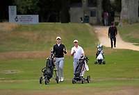 Cameron Jones and James Hydes. Day two of the Jennian Homes Charles Tour / Brian Green Property Group New Zealand Super 6's at Manawatu Golf Club in Palmerston North, New Zealand on Friday, 6 March 2020. Photo: Dave Lintott / lintottphoto.co.nz