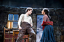 The Playboy of The Western World by J M Synge, directed by John Crowley. With Robert Sheehan as Christopher Mahon, Ruth Negga as Pegeen Mike. Opens at The Old Vic Theatre on 27/9/11 . CREDIT Geraint Lewis