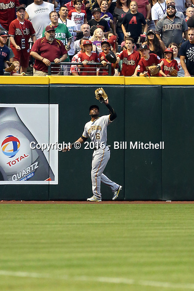 Starling Marte - 2016 Pittsburgh Pirates (Bill Mitchell)