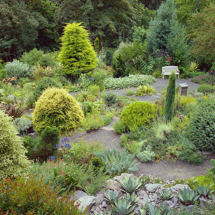 garden in the Pacific Northwest