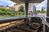 Architectural Photograph, of the Athens, Acropolis Museum.