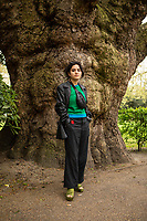 Sahaya James photographed in London's Fields in Central London. Sahaya James is a member of Momentum's national executive and campaigns officer at the student union of the University of the Arts London.