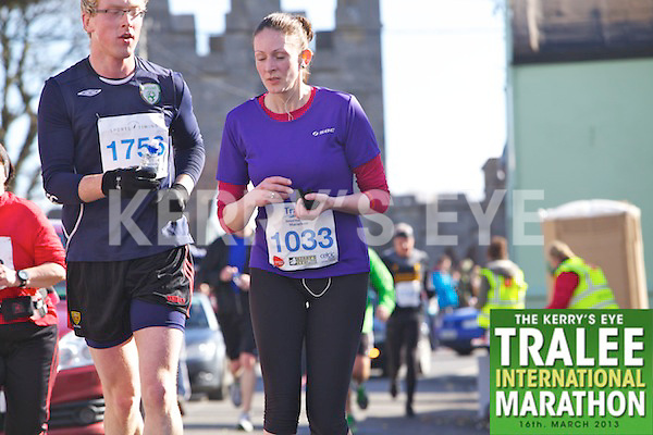 1033 Aine Browne  who took part in the Kerry's Eye, Tralee International Marathon on Saturday March 16th 2013.