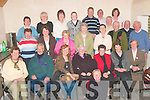 Peggie Sweeney seated front is joined by people from all parts of North Kerry for a session of Music, song, and recitation in The Rambling House Finuge on Friday night. The next session will be on Friday night  May 9th at 9.00 pm     Copyright Kerry's Eye 2008