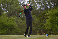 Jim Furyk (USA) watches his tee shot on 15 during Round 2 of the Valero Texas Open, AT&T Oaks Course, TPC San Antonio, San Antonio, Texas, USA. 4/20/2018.<br /> Picture: Golffile | Ken Murray<br /> <br /> <br /> All photo usage must carry mandatory copyright credit (© Golffile | Ken Murray)