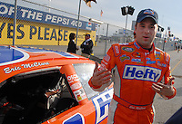 Feb 11, 2007; Daytona, FL, USA; Nascar Nextel Cup driver Eric McClure (04) during qualifying for the Daytona 500 at Daytona International Speedway. Mandatory Credit: Mark J. Rebilas