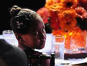 "Washington, DC - October 13, 2009 -- Sasha Obama, daughter of United States President Barack Obama, attends a White House Music Series ""Fiesta Latina"" on the South Lawn of the White House in Washington on Tuesday, October 13, 2009. .Credit: Alexis C. Glenn / Pool via CNP"