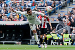 Real Madrid's Carlos Henrique Casemiro during La Liga match between Real Madrid and Athletic Club de Bilbao at Santiago Bernabeu Stadium in Madrid, Spain. April 21, 2019. (ALTERPHOTOS/A. Perez Meca)