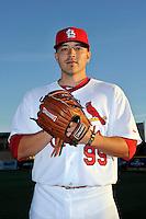 Mar 01, 2010; Jupiter, FL, USA; St. Louis Cardinals pitcher Charlie Zink (99) during  photoday at Roger Dean Stadium. Mandatory Credit: Tomasso De Rosa/ Four Seam Images