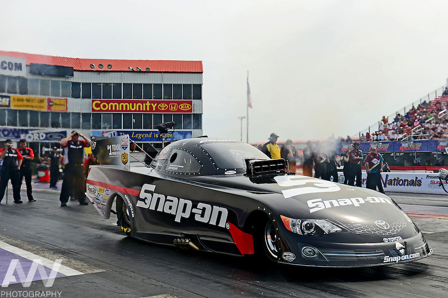 26-28 April, 2013, Houston, Texas USA, Cruz Pedregon, Snap-On Tools, Toyota Camry, funny car @2013, Andrew Weber