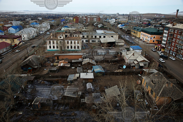 Zabaikalsk, a town on the Russian side of the Russian-Chinese border.