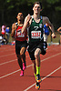 Valley Stream North senior Peter Wilk legs out a victory in the boys' 1,600 meter run in the Nassau County Class A varsity track and field championships at Roosevelt High School on Friday, May 29, 2015. He won with a time of 4:25.59.<br /> <br /> James Escher