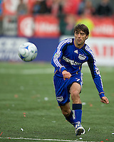 26 April 2009: Kansas City Wizards forward Claudio Lopez #7 in action during an MLS game at BMO Field between Kansas City Wizards and Toronto FC.Toronto FC won 1-0. .