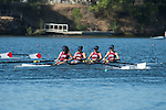 May 18, 2013; Gold River, CA, USA; Loyola Marymount Lions I Four during the WCC Rowing Championships at Sacramento State Aquatic Center.