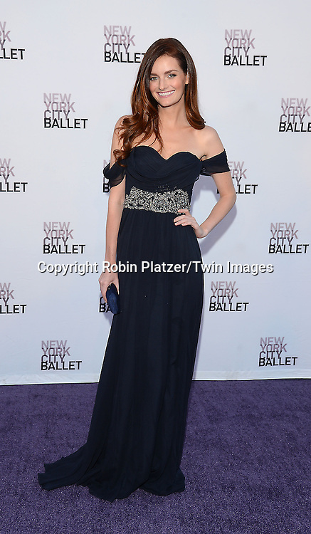 Lydia Hearst  attends the New York City Ballet's 3rd Annual  Fall Fashion Gala on September 23, 2014 at David Koch Theatre in Lincoln Center in New York City. <br /> <br /> photo by Robin Platzer/Twin Images<br />  <br /> phone number 212-935-0770