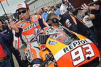 Aragon (Spagna) 28/09/2014 - gara Moto GP / foto Luca Gambuti/Image Sport/Insidefoto<br /> nella foto: Marc Marquez