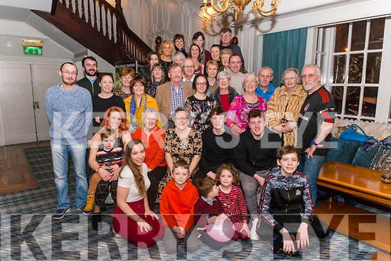 Carmel Lanigan from Killarney celebrated her 60th birthday surrounded by friends and family in the Avenue Hotel, Killarney last Saturday night.
