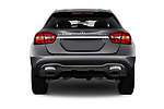 Straight rear view of a 2018 Mercedes Benz GLA GLA250 5 Door SUV stock images