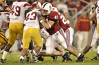 4 November 2006: Tom McAndrew during Stanford's 42-0 loss to USC at Stanford Stadium in Stanford, CA.