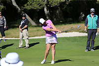 Julie Inkster part of the 3M Celebrity Challenge during Wednesday's Pracitce Day of the 2018 AT&amp;T Pebble Beach Pro-Am, held over 3 courses Pebble Beach, Spyglass Hill and Monterey, California, USA. 7th February 2018.<br /> Picture: Eoin Clarke | Golffile<br /> <br /> <br /> All photos usage must carry mandatory copyright credit (&copy; Golffile | Eoin Clarke)