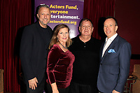 LOS ANGELES - OCT 6: Keith McNutt, DIanne Fraser, David Gallagan, David Rambo at the Right This Way, Your Table's Waiting cabaret performance - to benefit The Actors Fund held at  The Catalina Jazz Club on October 8, 2017 in Los Angeles, CA