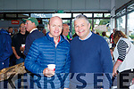 Peter Canavan with Dick Dalton,l pictured last Saturday at the opening of Dick Dalton's - Garden & Tools Supplies in Abbeyfeale