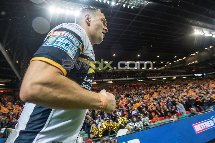 Picture by Allan McKenzie/SWpix.com - 07/10/2017 - Rugby League - Betfred Super League Grand Final - Castleford Tigers v Leeds Rhinos - Old Trafford, Manchester, England - Danny McGuire.
