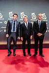 Enrique Cerezo during the red carpet of the Liga de Futbol Profesional Awards in Madrid. October 27, 2014. (ALTERPHOTOS/Jose Luis Frias)