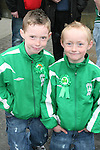 Darren and Sean O'Brien at the 2010 St Patrick's Day Parade...Photo NEWSFILE/Jenny Matthews.(Photo credit should read Jenny Matthews/NEWSFILE)....This Picture has been sent you under the condtions enclosed by:.Newsfile Ltd..The Studio,.Millmount Abbey,.Drogheda,.Co Meath..Ireland..Tel: +353(0)41-9871240.Fax: +353(0)41-9871260.GSM: +353(0)86-2500958.email: pictures@newsfile.ie.www.newsfile.ie.FTP: 193.120.102.198.