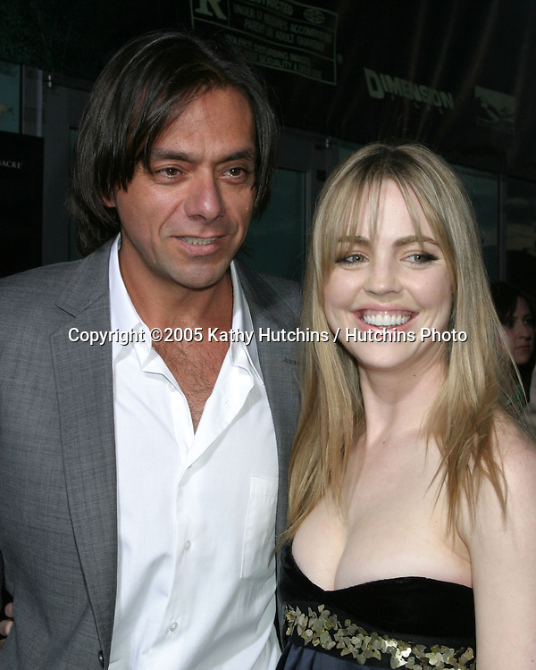 Melissa George and husband.The Amitville Horror Premiere.ArcLight Theater.Los Angeles, CA.April 7, 2005.@2005 Kathy Hutchins / Hutchins Photo.