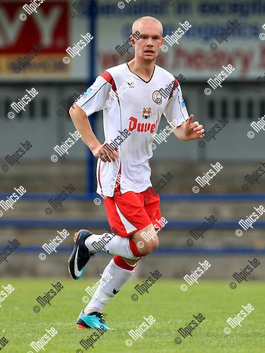 2010-08-25 / Voetbal / seizoen 2010-2011 / Willebroek-Meerhof / Dellevoet Cedric..Foto: Mpics