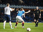 Ref Craig Charleston books Dean Shiels for a dive