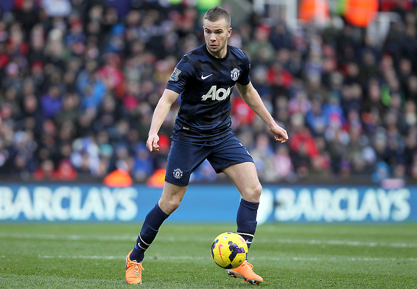 Manchester United's Tom Cleverley<br />