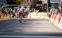 stage winner Daniel Felipe Martínez (COL/EF Education First)<br /> <br /> Stage 7: Nice to Col de Turini (181km)<br /> 77th Paris - Nice 2019 (2.UWT)<br /> <br /> ©kramon