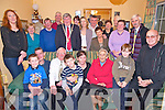 Margaret O'Shea pictured with her family and friends as she celebrated a special birthday at her home in Ardshanavooley, Killarney on Sunday night.