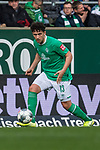 02.11.2019, wohninvest WESERSTADION, Bremen, GER, 1.FBL, Werder Bremen vs SC Freiburg<br /> <br /> DFL REGULATIONS PROHIBIT ANY USE OF PHOTOGRAPHS AS IMAGE SEQUENCES AND/OR QUASI-VIDEO.<br /> <br /> im Bild / picture shows<br /> Milos Veljkovic (Werder Bremen #13), <br /> <br /> Foto © nordphoto / Ewert