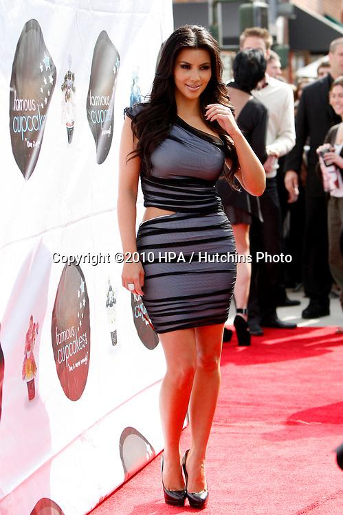 Kim Kardashian.arriving at the .Launch of Kim Kardashian Vanilla Cupcake Mix .Famous Cupcakes.Beverly Hills, CA.February 19, 2010.©2010 HPA / Hutchins Photo....