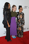 (L-R) Tiffany Haddish, Lisa Hanawalt and Ali Wong arrive at the Tuca & Bertie world premiere on Wednesday May 1, 2019 during the Tribeca Film Festival 2019; at The Marriott Bonvoy Boundless Theater from Chase in Spring Studios.
