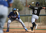 Images from a minor league spring training game between the Los Angeles Dodgers and the Chicago White Sox in Glendale, Ariz., on Wednesday, March 21, 2018. <br /> Photo by Cathleen Allison/Nevada Momentum