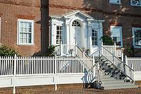 The historic Chase-Lloyd House, Annapolis, Maryland, USA