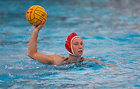 Stanford - February 1, 2015: Anna Yelizarova during the Stanford vs UCLA title match of the 2015 Stanford Invitational at Avery Aquatic Center on Sunday afternoon.<br /> <br /> The Cardinal defeated the Bruins 9-5.