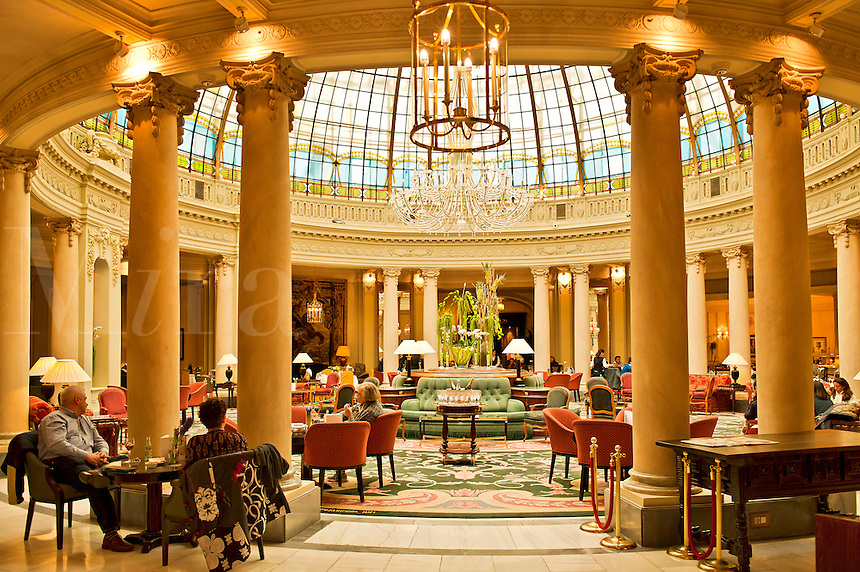 La Rotunda, Westin Palace Hotel, Madrid, Spain